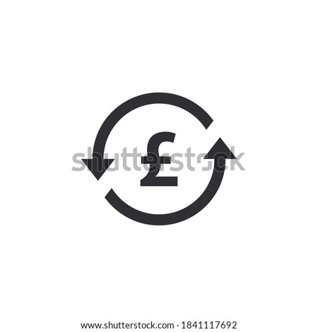 Coin icon. Pound coin. Money symbol. Bank payment symbol. Pound sign. Finance symbol. Currency symbol. Pound currency. Cash icon. English currency pound. Currency exchange. Money transfer.