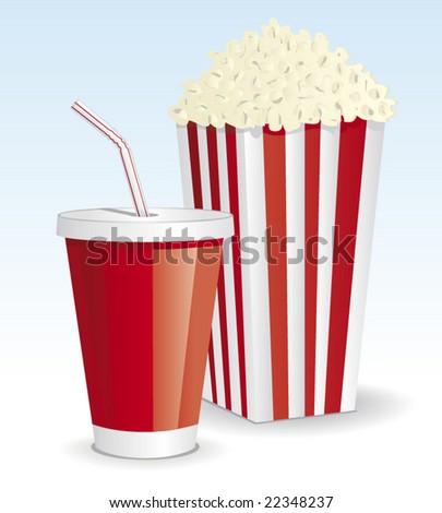 cola   popcorn