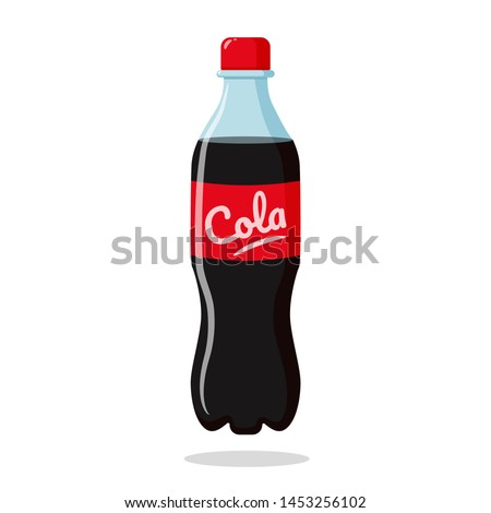 Cola soda in plastic bottles Drink to crave for a refreshing feeling. Zdjęcia stock ©