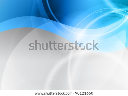cold background in the blue color