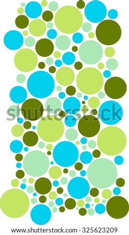 cold colors green  olive  lime