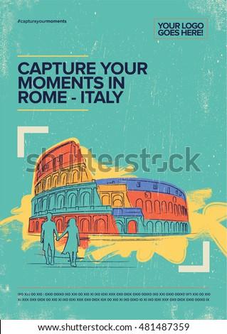 coliseum  rome italy travel
