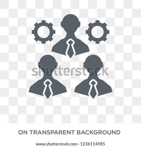 Collaboration icon. Collaboration design concept from  collection. Simple element vector illustration on transparent background.