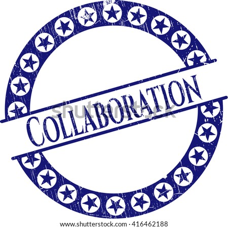 Collaboration rubber stamp