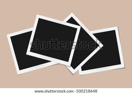 photograph template