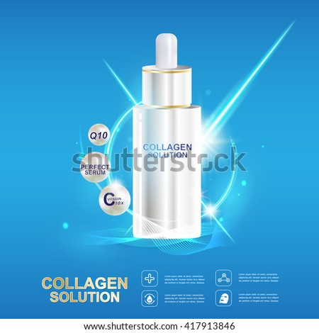 collagen serum and vitamin