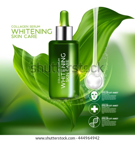 collagen serum concept skin