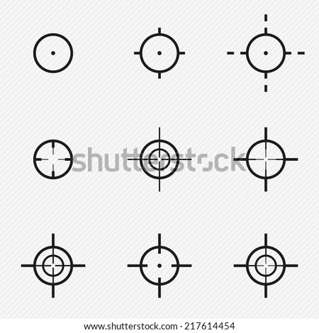 collection aim target pointer