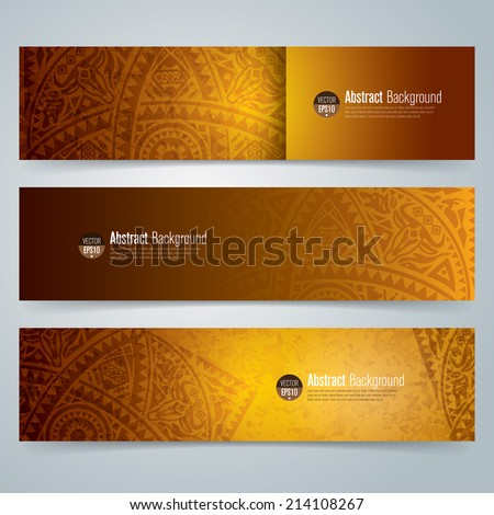 Collection banner design, white background, vector illustration.