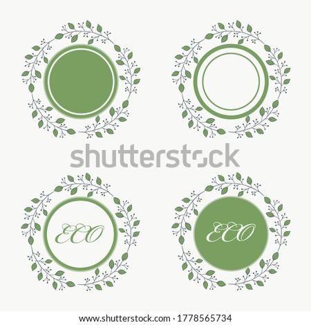 collection circle  eco frame
