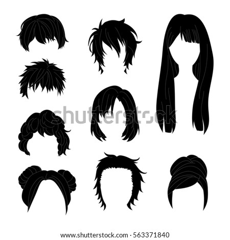 collection hairstyle for man