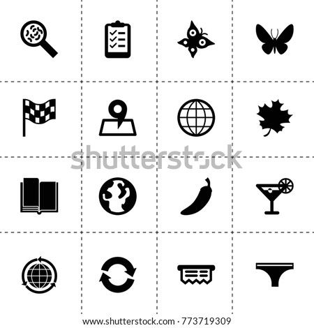 collection icons vector