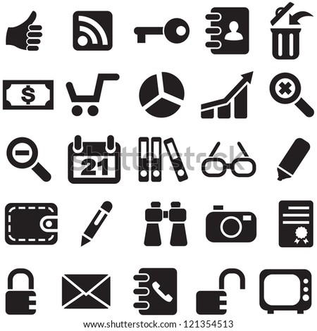 Collection icons vector for design.