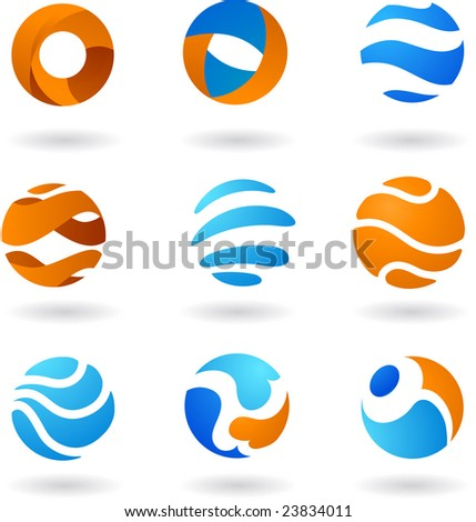 collection of abstract icons - 3.  To see similar, please visit MY GALLERY