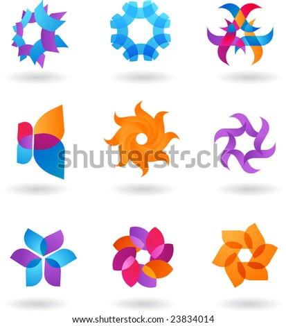 collection of abstract icons - 4. To see similar, please visit MY GALLERY
