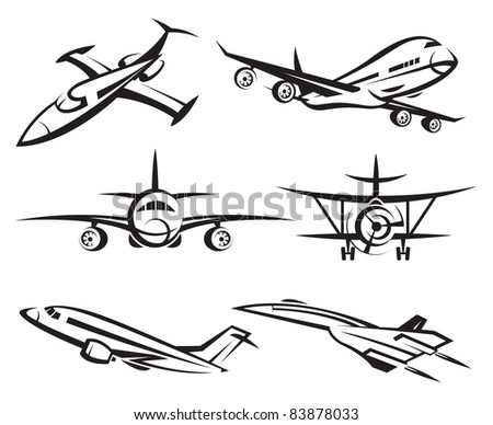 collection of aircraft