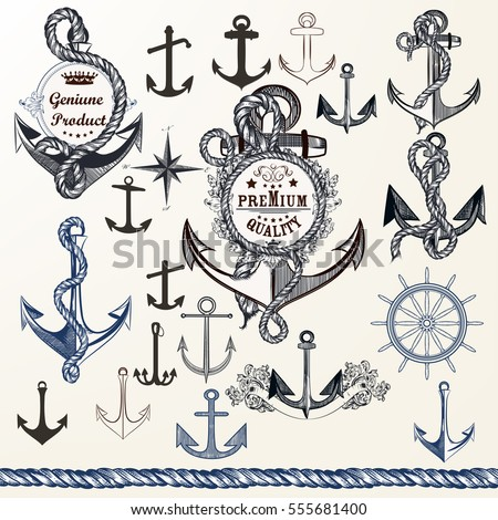 collection of anchors  labels...