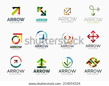 Technology Logo Set Download Free Vector Art Stock Graphics Images
