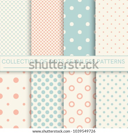 Collection of baby seamless patterns.Orange,turquoise, beige colors. Seamless pattern included in swatch panel.Design for fabric,wallpaper, cards prints of baby goods.Vector backgroun