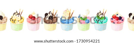 collection of baskets of