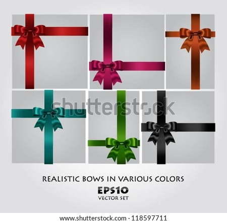 Collection of bows