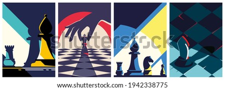 collection of chess posters