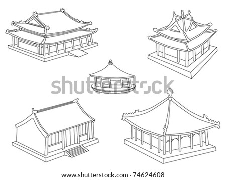 Collection of Chinese homes