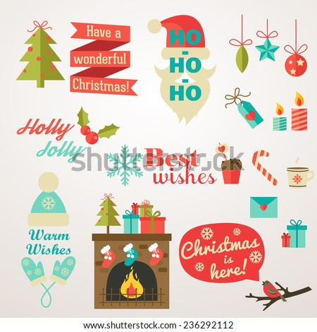 Phrases Christmas And New Year of Christmas And New Year