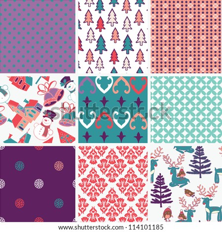 Collection of Christmas designs