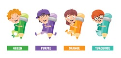 Collection Of Colors For Children Education