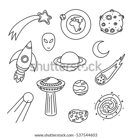 collection of cosmic doodle