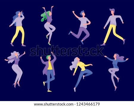 collection of dancers men and