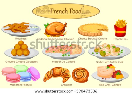 collection of delicious french