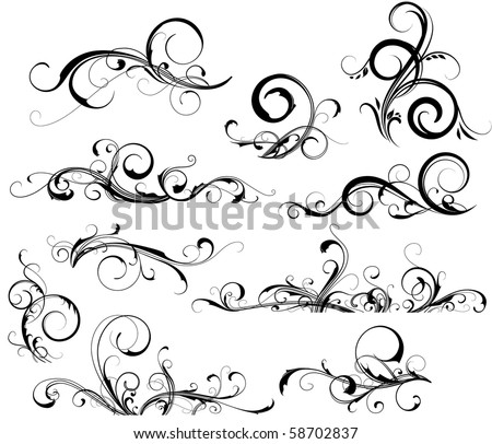 stock-vector-collection-of-design-elements