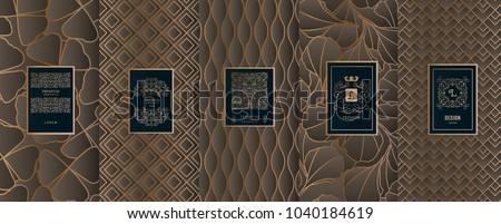 stock-vector-collection-of-design-elements-labels-icon-frames-for-packaging-design-of-luxury-products-for