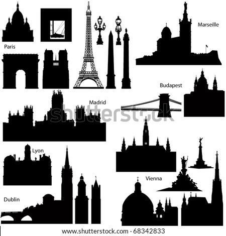 collection of detailed vector