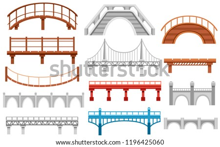 collection of different bridges