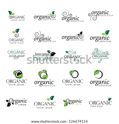 Collection Of Ecology Icon. - Isolated On White Background. Vector illustration, Graphic Design Editable For Your Design. Eco Logo