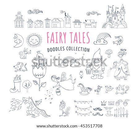 collection of fairy tales hand