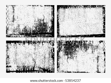 collection of grunge textures