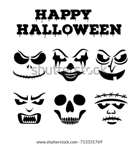 collection of halloween