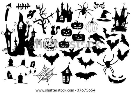 Free Halloween Symbols Vector Collection - Download Free Vector ...