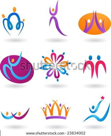collection of human icons   3