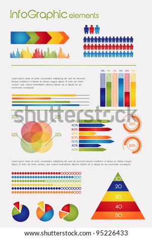Collection of Info Graphic elements