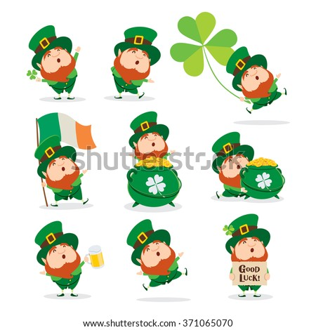 collection of leprechaun for