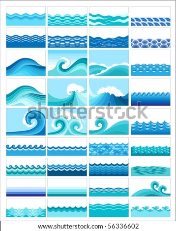 collection of marine waves