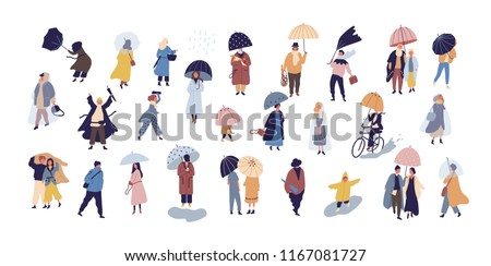collection of people walking