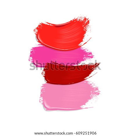 stock-vector-collection-of-pink-red-and-purple-lipstick-smears-on-white-background-beauty-and-makeup-vector