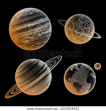 collection of planets in solar