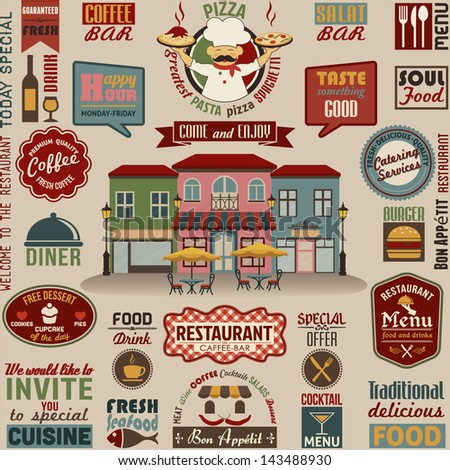 collection of restaurant design ...